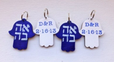 Personalized Jewish Wedding Favors