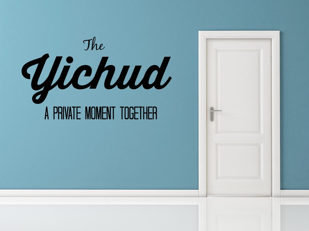 Yichud: A Private Moment Together
