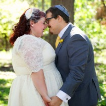 Vintage 50s Inspired Jewish Wedding | Jenna Leigh Photo 8