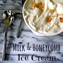 Milk & Honeycomb Ice Cream | The Big Fat Jewish Wedding